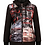 Thumbnail: Quilted Jacket with Knit Sleeves