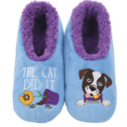 The Cat Did It Slippers by Snoozies