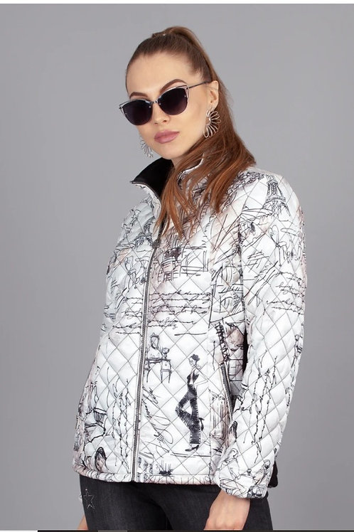 Once in Paris Quilted Jacket