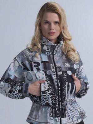 Dolcezza Drawstring Lightweight Jacket