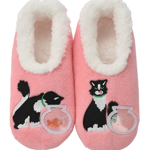 Naughty Kitty Slippers by Snoozies