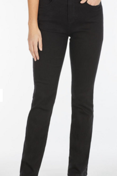 Peggy Classic Straight Leg Jean (Black Only)