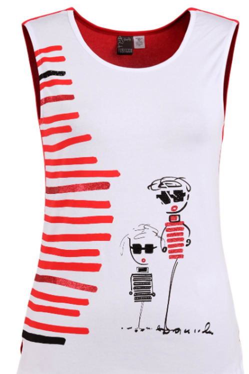 Tank from Simply Art Dolcezza Collection