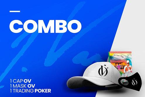 Poker + Cap + Mask