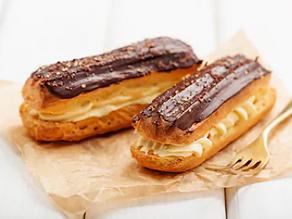 Vanilla-Caramel Éclairs
