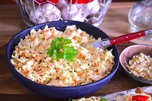Greek Yoghurt Celeriac Chicken Salad