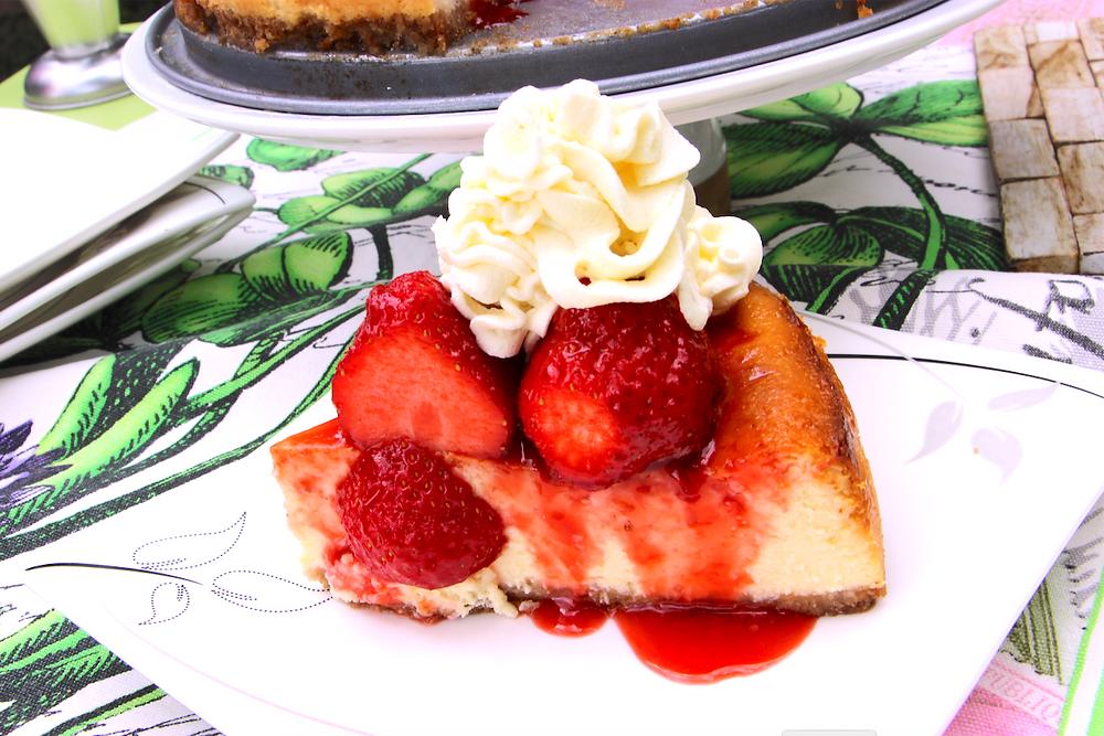 Amazing New York-Style Cheesecake
