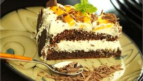 Mango Chocolate Cream Cake