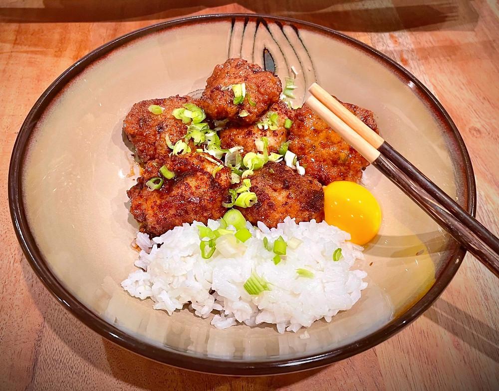 Japanese Chicken Meatballs 'Tsukune'