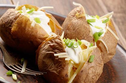 Baked Potatoes ''farcies à l'italienne''