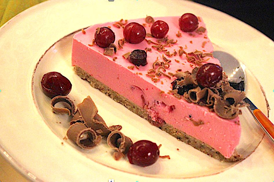 Strawberry Margarita Cheesecake