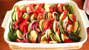 Colourful Vegetable Gratin
