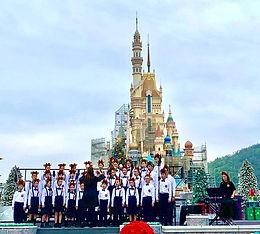香港迪士尼樂園聖誕音樂會 2019