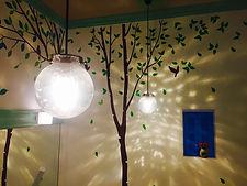エステルームのライト