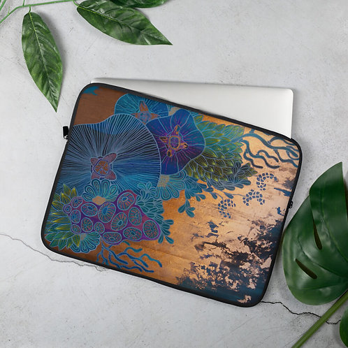 Neon Coral Laptop Sleeve