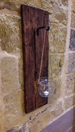 Reclaimed Candle Holder
