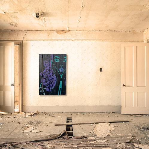 Ooh Pallet Wall Art