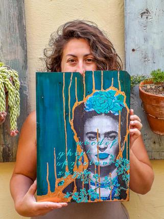 Mixed Media Frida