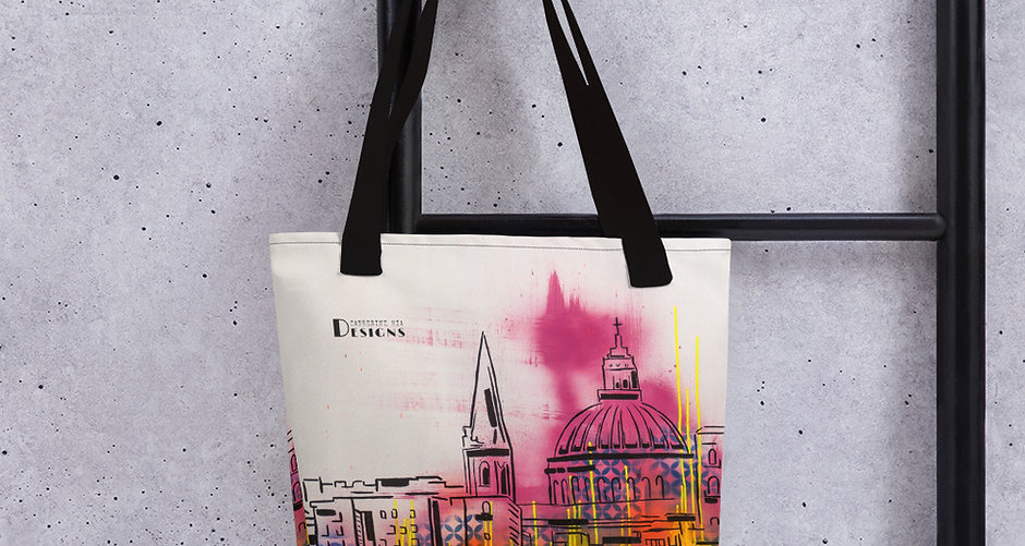 Tote Bag | Valletta Neon