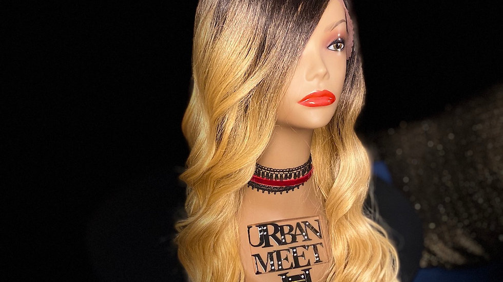 100% Synthetic T-Shaped Lace Font Wig