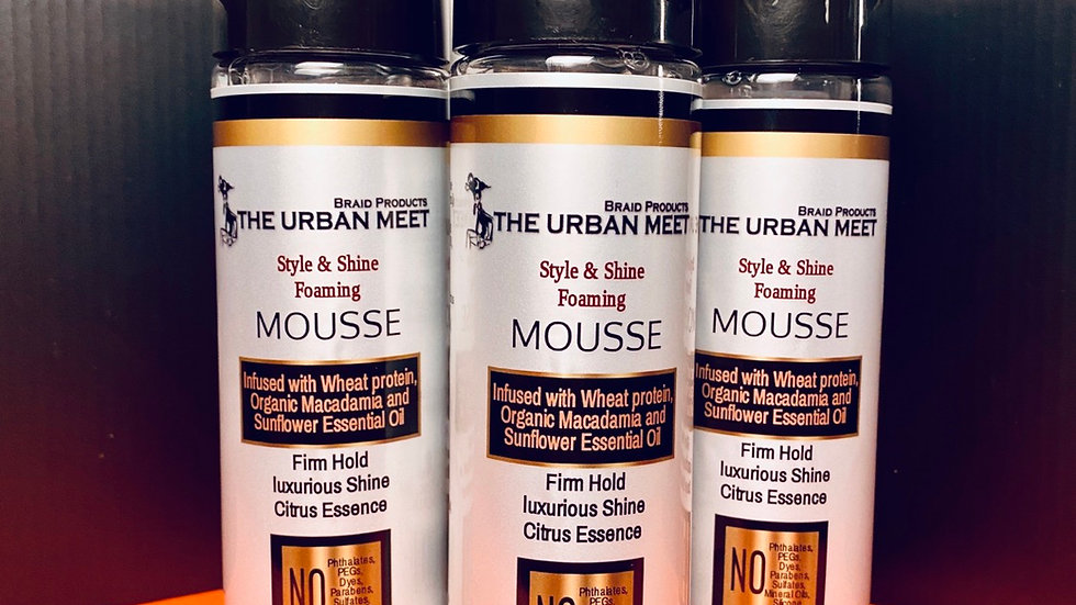 The Urban Meet Style & Shine Foaming Mousse