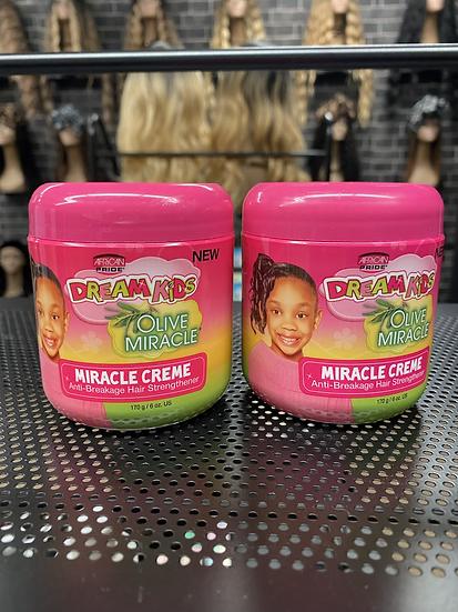 African Pride| Dream Kids Olive Miracle Cream 6oz