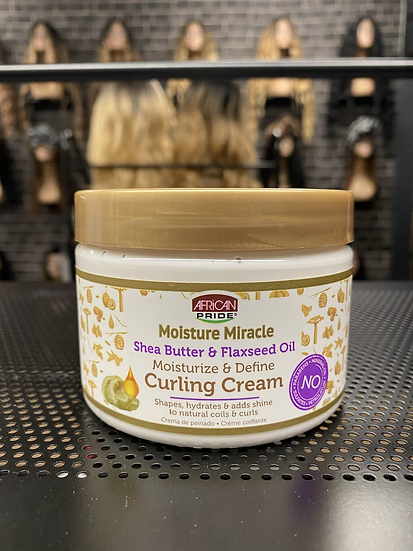 African Pride| Moisture Miracle Curling Cream 12oz