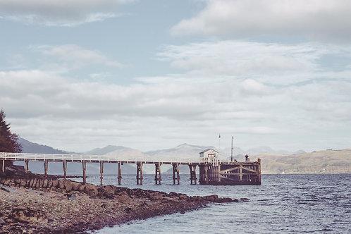 Blairmore Pier, Loch Long, Argyll No:1