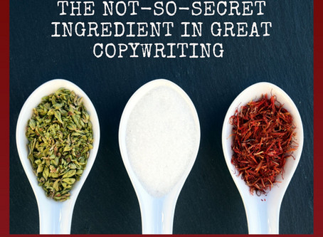 The Not-So-Secret Ingredient in Great Copywriting: Pt 1, The Copy Brief