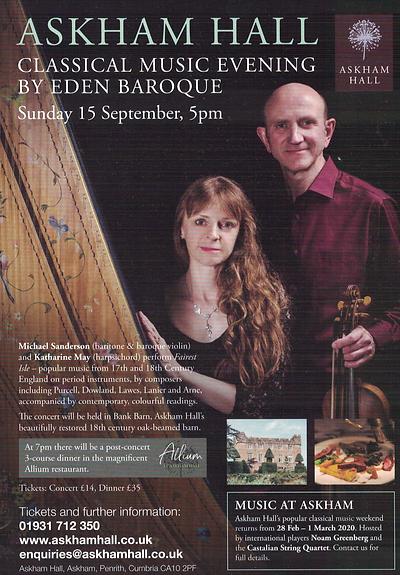 Askham Hall 15th September `19 flyer2508