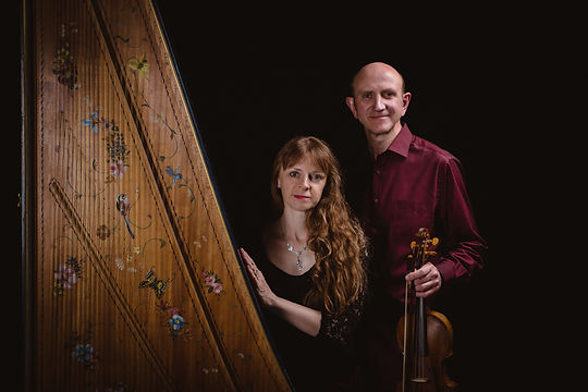 Katharine May and Michael Sanderson music teachers