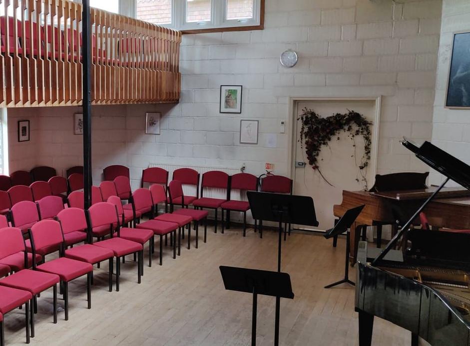Mehuhin small concert hall