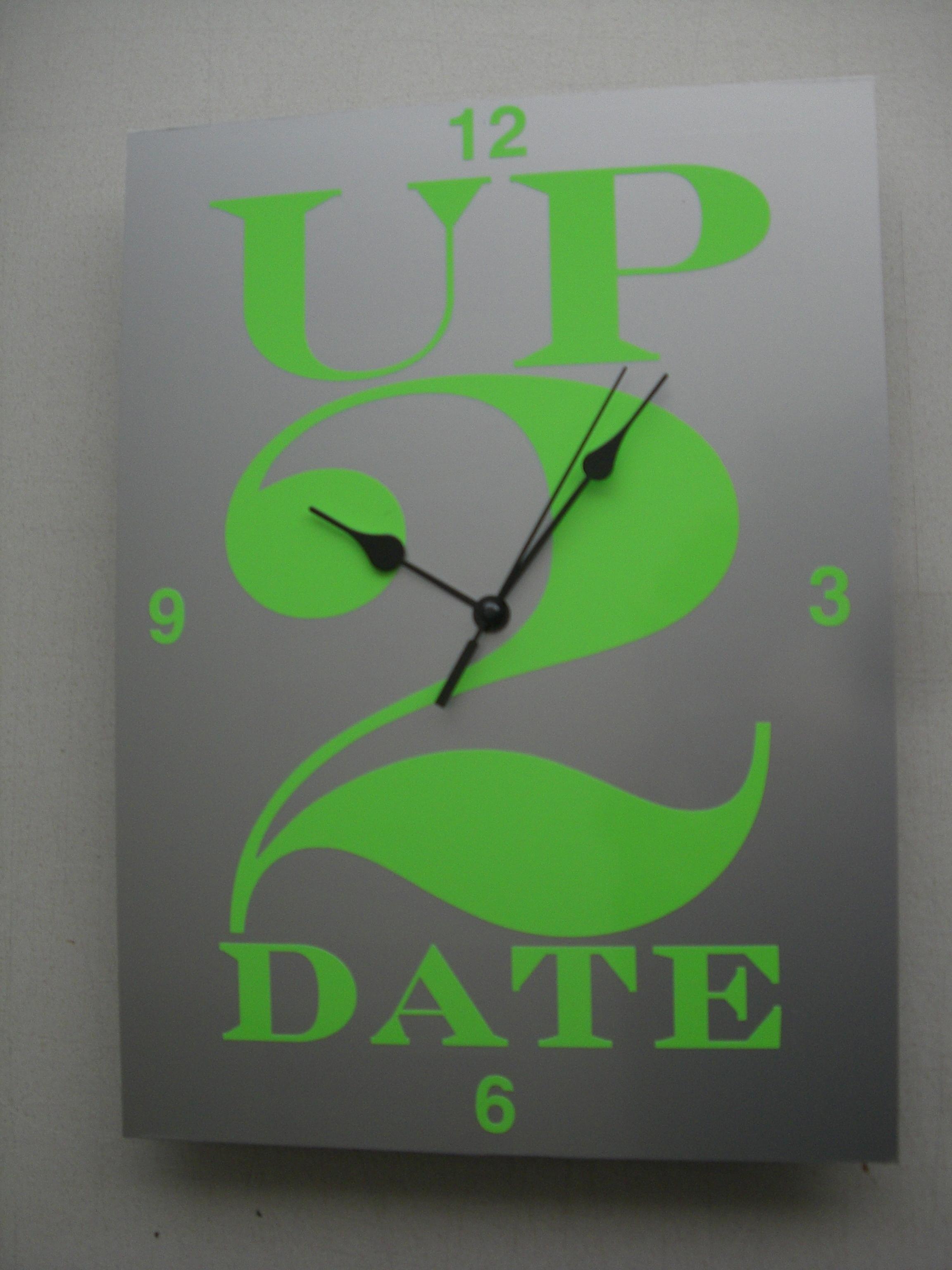 Up2Date Uhr
