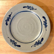 Stoneware Plate - $20