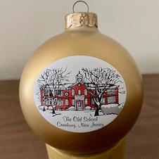 Cranbury Ornament $15
