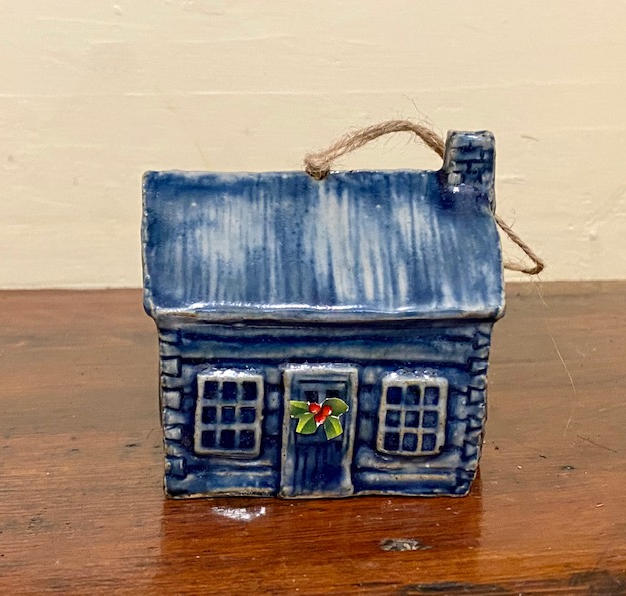 Cabin Ornament - $20