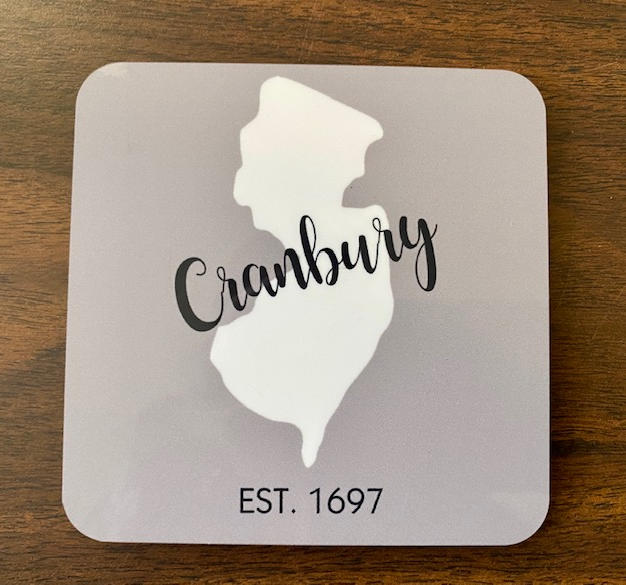 Coaster with Cork Back - $7 / 4 for $25