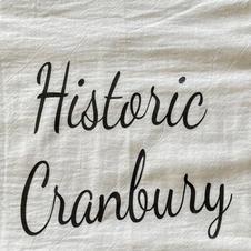 Historic Cranbury Tea Towel $10