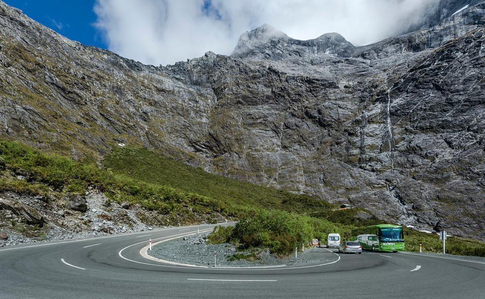 Milford Sound Drive, New Zealand