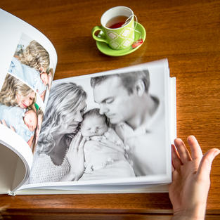 "Premium Photo Book - Large Landscape 12.7 x 9.5"""