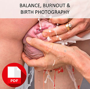 Balance Burnout Birth Photography PDF fb