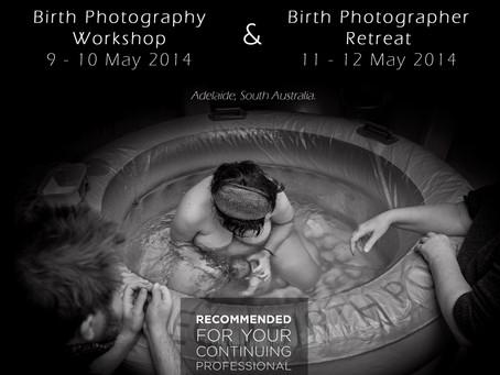 Australian Birth Photography Workshop & Retreat