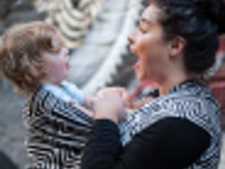 International Babywearing Week – Adelaide Birth Photographer