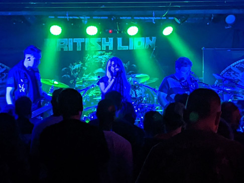 An Incredible Show opening for Steve Harris' British Lion!