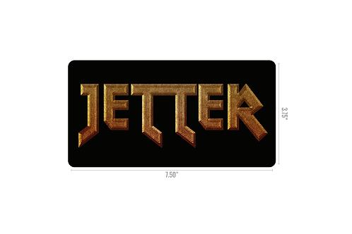 JETTER Logo Sticker - Rectangle