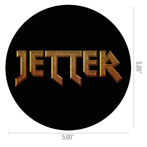STICKER! When All Else Fails JETTER Logo - Round