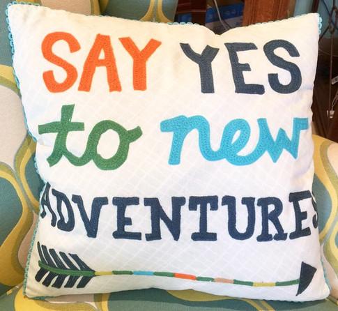 New Adventures Pillow