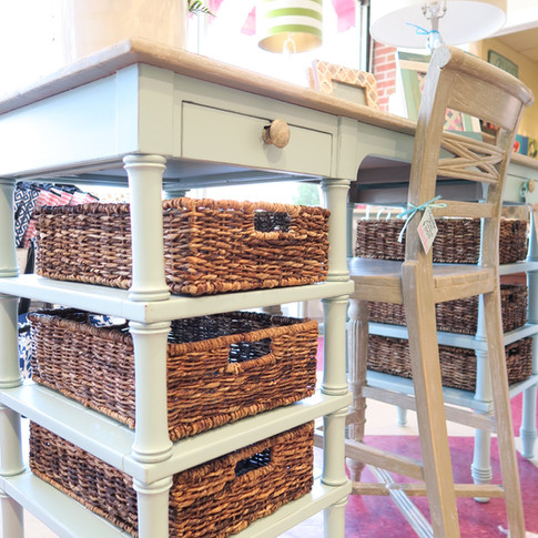 Beach Furniture and Wicker Baskets
