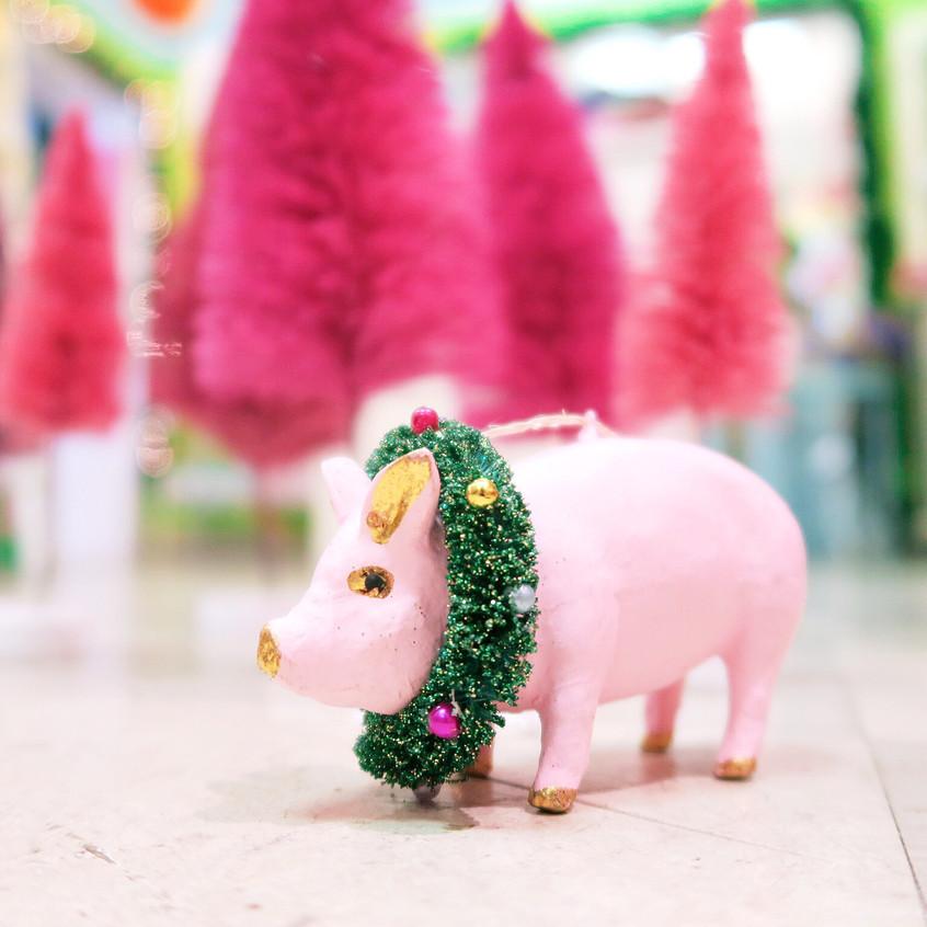 Christmas Pig ornaments