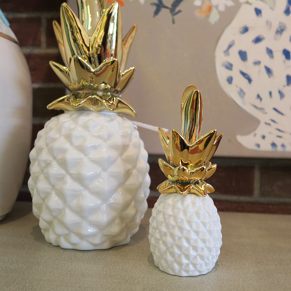 Stylish Pineapples and home decor